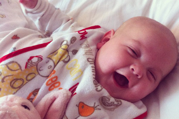Peaches Geldof shares a gazillion photos of baby Astala on Twitter