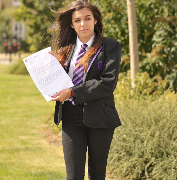 Schoolgirl sent home because her trousers were 'too tight'