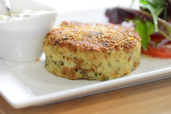 Smoked Cheddar and Haddock Fishcakes