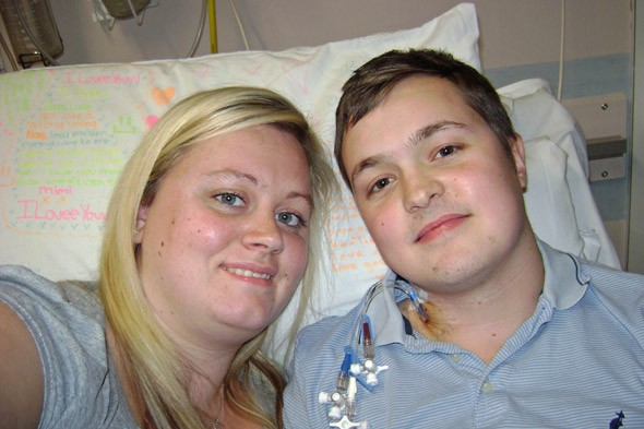 Mum who donated son's organs meets the father she saved