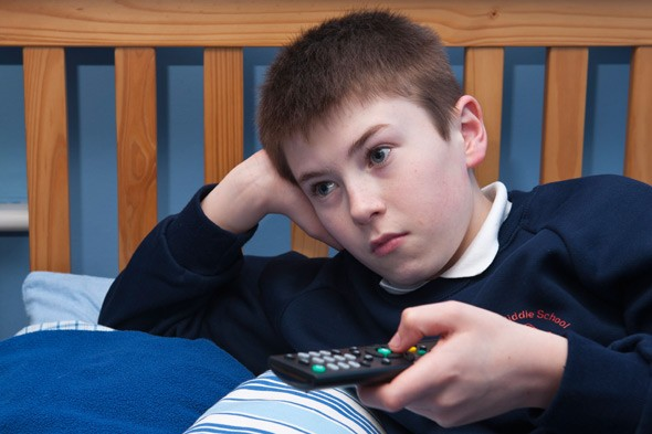 Do you let your children have TV in their bedrooms?
