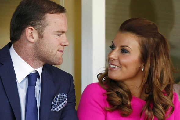 Coleen and Wayne Rooney