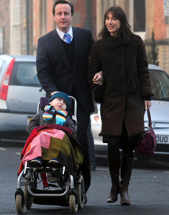 Samantha Cameron reduced to tears as David shares touching moment about their late son Ivan