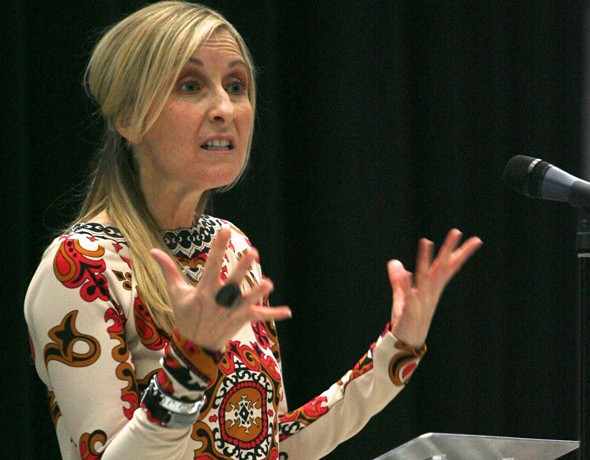 She won't be invited back! TV presenter Fiona Phillips returns to her old school and accuses it of turning her into a 'vile shoplifter'