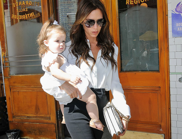 Harper Beckham starts DANCE classes at an age most kids have just learned to walk!