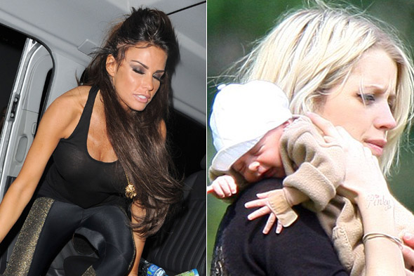 Peaches Geldof and Katie Price's war of words - celeb mums have it out!