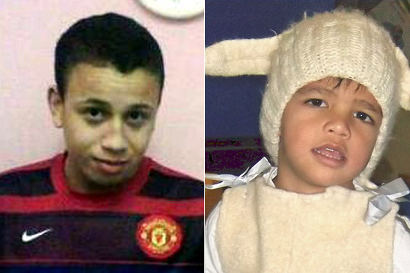 Jailed: Toyboy lover whose girlfriend covered for him after he beat her toddler to death