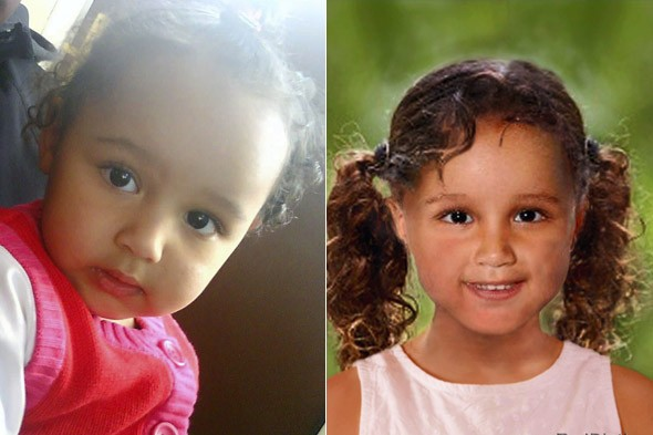 Do you recognise Atiya? Mum's fears that daughter kidnapped three years ago has been sold to child traffickers