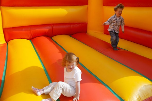 Bouncy castle accidents on the rise