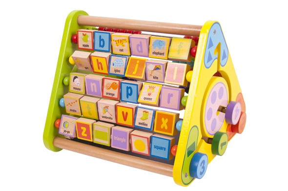 Bigjigs Toys Triangular Activity Centre, £24.99