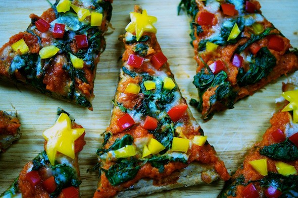 Christmas recipes: Homemade Christmas tree pizza to cook with your children