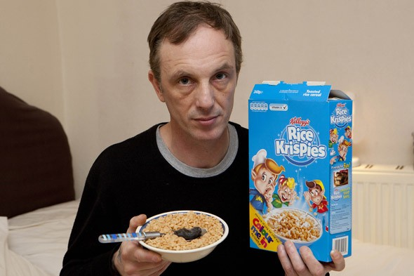Dad finds dead mouse in his bowl of Rice Krispies