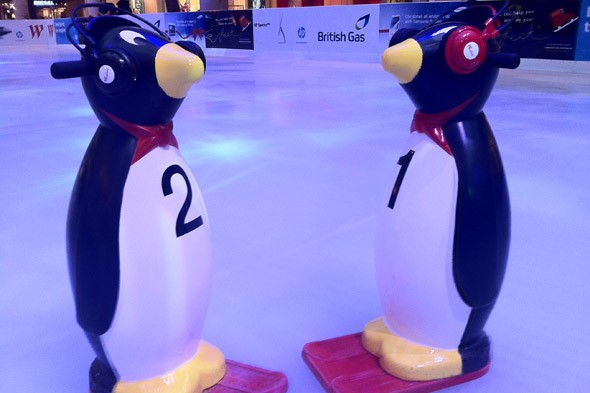 Get your skates on at the Westfield ice rinks this Christmas!