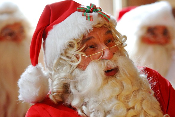 Garden centre Santa leaves children in tears after telling them he isn't real