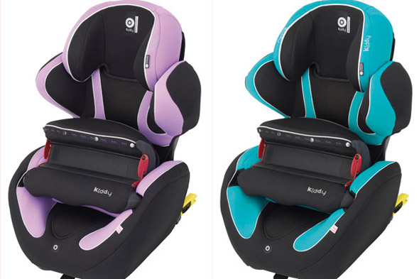 WIN a Kiddy Phoenixfix Pro Car seat with Mix 'N Match seat insert!