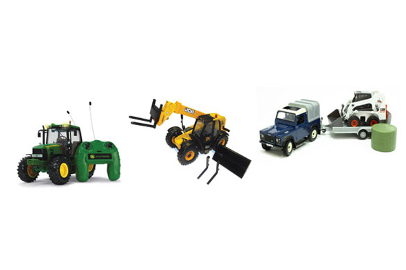 WIN Big Farm toys worth £127!