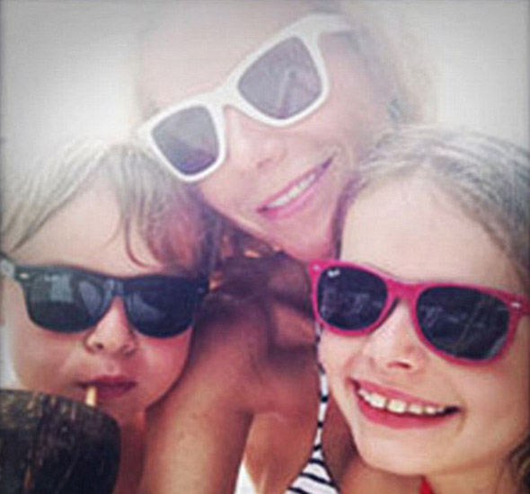 Gwyneth Paltrow shows off family holiday snaps on Goop