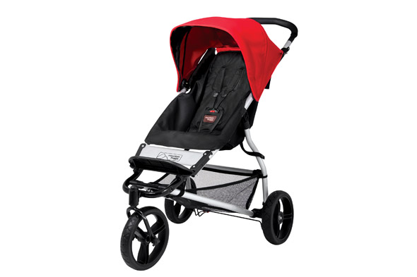 Mountain Buggy Mini - smart hybrid pushchair