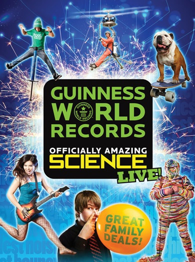 Guinness World Records Officially Amazing Science Live!