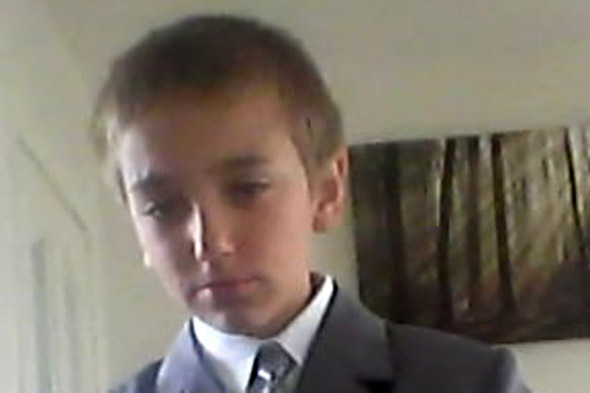 Schoolboy hanged himself while 'messing about' with his school tie