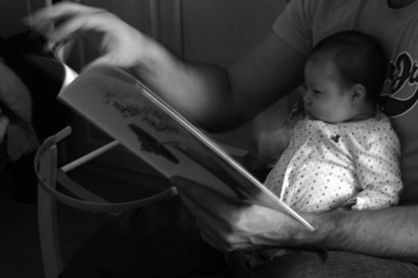 Once upon a time...why reading to babies isn't so batty