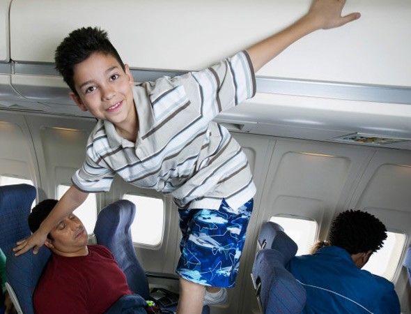 Leave the earplugs at home! Airline offers child-free zones on flights