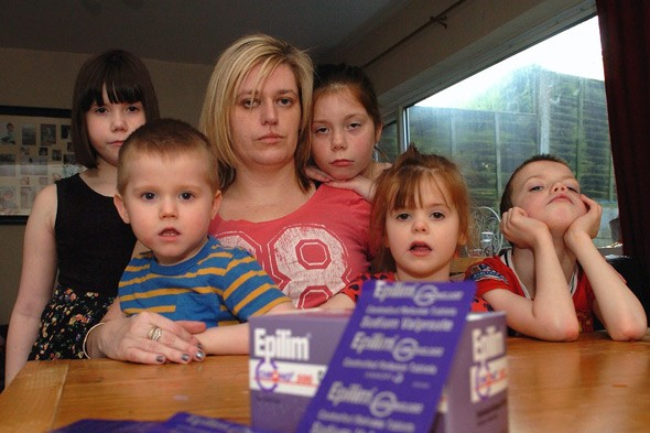 Mum says anti-epilepsy drug gave her 5 kids autism, deafness, celebral palsy and incontinence
