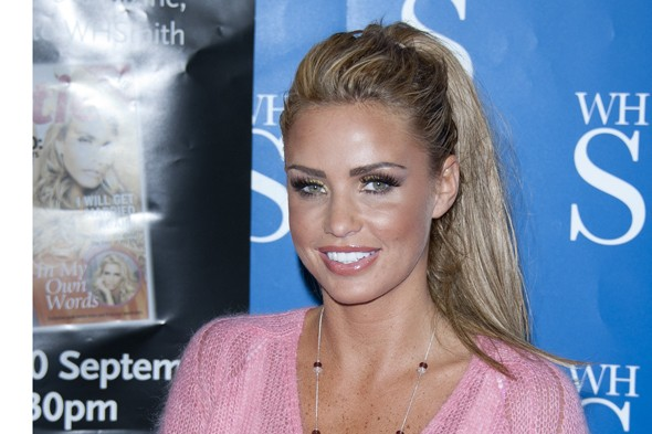 Katie Price pregnant five weeks after marrying new man Kieran Hayler
