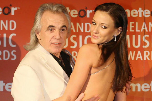 Nightclub owner Peter Stringfellow to be a dad again at the age of 72