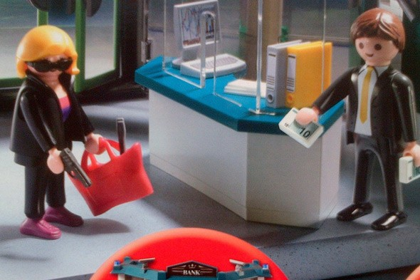 Playmobil bank robbery set aimed at 4-year-olds outrages anti-gun campaigners