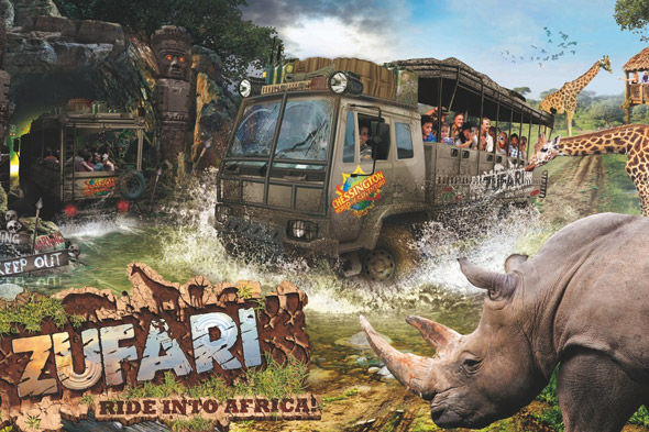 Zufari: Ride into Africa!