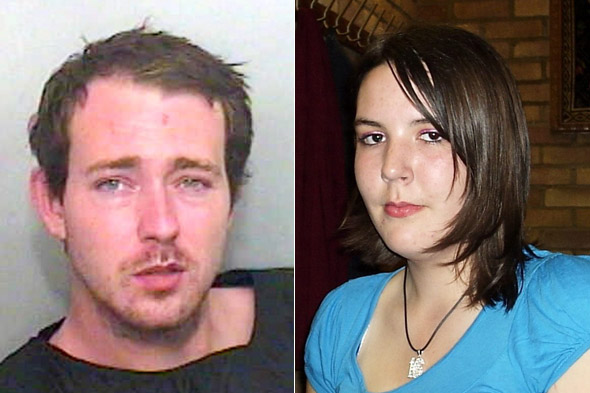 Convicted: Man who stamped his ex-fiancee and unborn baby to death