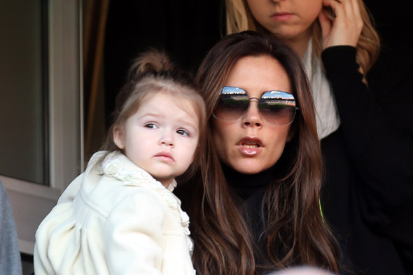 Victoria Beckham suffers withdrawal symptoms as Harper starts nursery