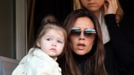 Victoria Beckham's separation misery as Harper starts nursery
