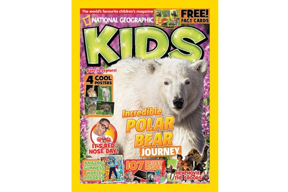 WIN a subscription to National Geographic Kids and a day as a junior reporter!