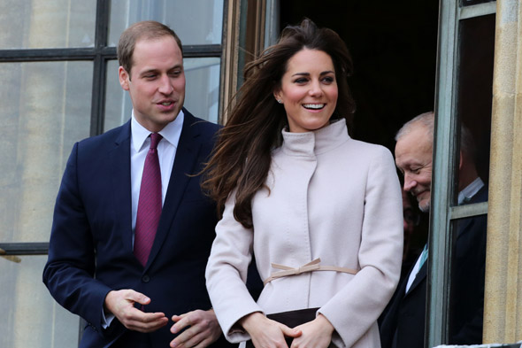 Royal boy names for the Duke and Duchess of Cambridge