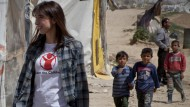 Samantha Cameron horrified by plight of Syrian children