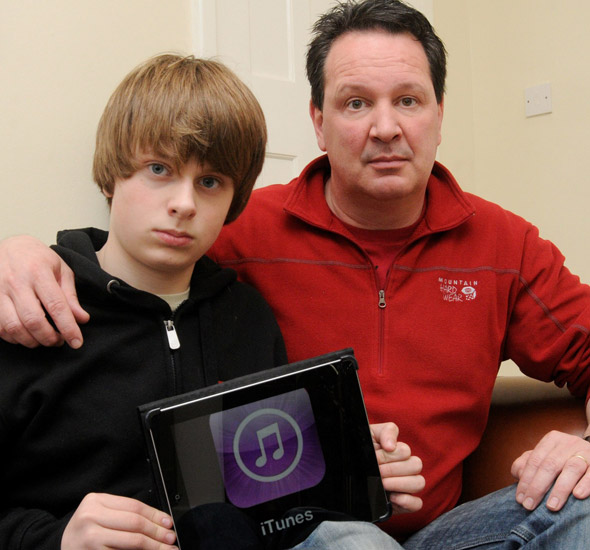 Policeman dad shops teen son for fraud after he ran up £3,700 iPad bill