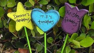 Crafts for kids: How to make plant markers for spring