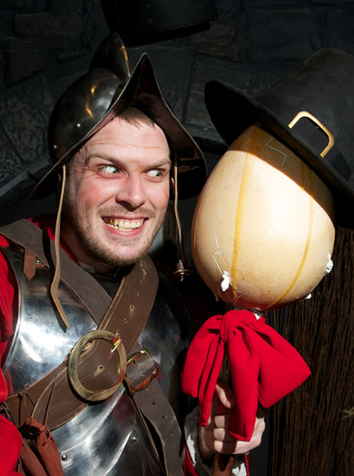 Bad Eggs at the New London Dungeon