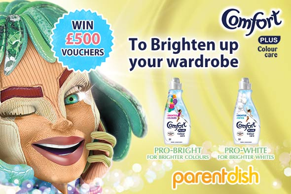 WIN a £500 Love2Shop high street voucher with Comfort Brights!