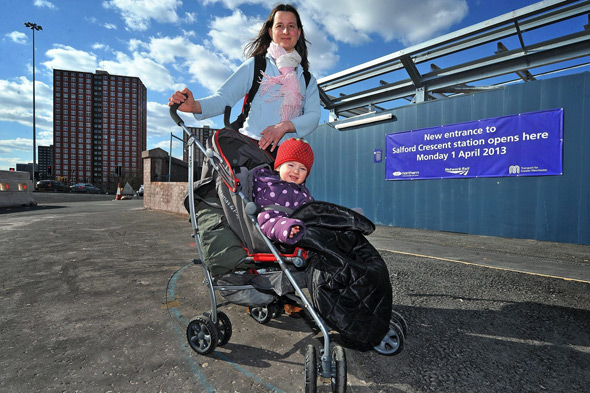 Station staff would not help mum with pushchair