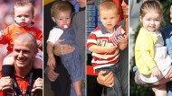 Beckham babies: Victoria and David's four children look like peas in a pod
