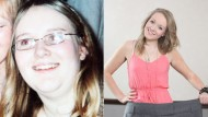 Bullied Emma, 18, is beauty contestant after losing half her body weight