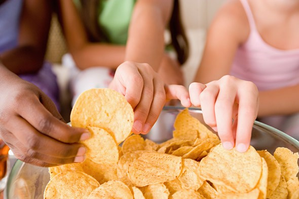 Surprise, surprise! A third of kids eat crisps every day