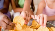 A third of kids eat crisps every day