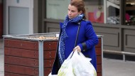 Pregnant Coleen Rooney can't wait to lose her maternity leggings