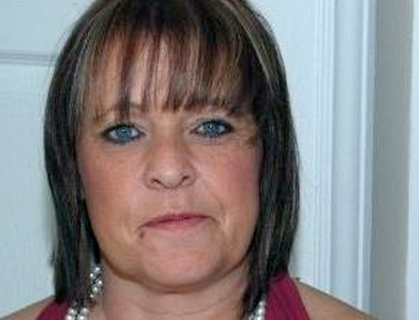 Grandmother killed in car smash yards from granddaughter's road safety poster