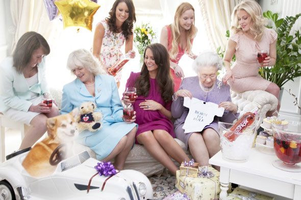 Pregnant Kate Middleton has a right Royal baby shower