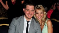 Michael Bublé hopes his unborn son will 'be the next David Beckham!'